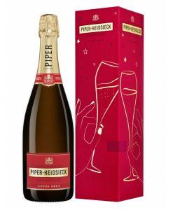 Champagne Piper-Heidsieck Cuvee Brut Frankrijk in geschenkverpakking