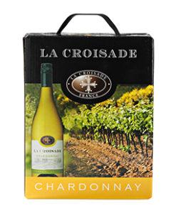 La Croisade Chardonnay IGP Pays d'Oc Frankrijk Bag in Box 3 Ltr.