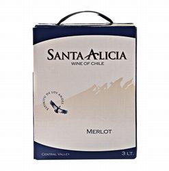 Santa Alicia Merlot Central Valley Chili Bag in Box