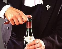 Wijn openen