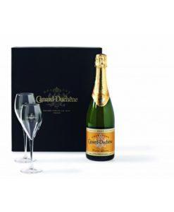 Champagne Canard-Duchêne Leonie Brut in Luxe Geschenkverpakking