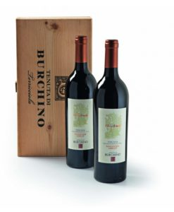 Burchino Chianti Superiore Italië 2 flessen in geschenkverpakking