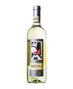 Moma Trebbiano Chardonnay Rubicona IGT Romagna Italië