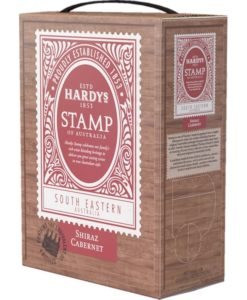 Hardy's Stamp Of Australia Shiraz-Cabernet Sauvignon South Eastern Australia Bag in Box 3 ltr. Australië