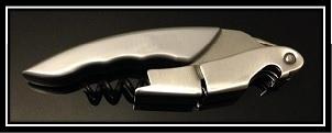 LIGNE|W IROQUOIS ZINC Corkscrew sommelier