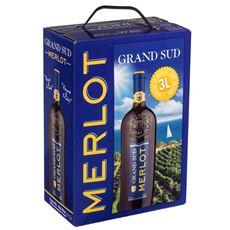 Grand Sud Merlot Bag in Box 3 ltr. Frankrijk