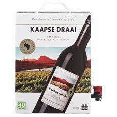 Kaapse Draai Cinsault-Cabernet Sauvignon Bag in Box 3 ltr. Zuid-Afrika