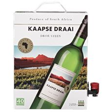 Kaapse Draai Droë Steen Bag in Box 3 ltr. Zuid-Afrika