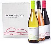 Wijnproefdoos wijnhuis Paarl Heights Zuid-Afrika