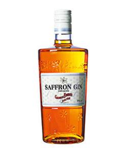Saffron Gin fles 70 cl.